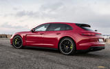 Porsche Panamera Turbo S E-Hybrid Sport Turismo rear quarter