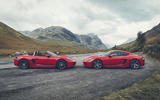 Porsche 718 Cayman and Boxster 2018 - static side