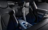 2020 Porsche Taycan reveal images - back seats