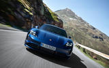 2020 Porsche Taycan reveal images - driving front