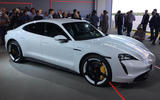 Porsche Taycan 2020 official reveal - right side