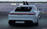 Porsche Taycan 2020 official reveal - rear