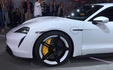 Porsche Taycan 2020 official reveal - alloy wheels