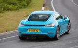 Porsche 718 Cayman S rear