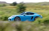 Porsche 718 Cayman S side profile