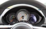 Porsche 718 Cayman S instrument cluster