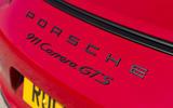 Porsche 911 GTS badging
