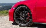 Porsche 911 GTS black alloys