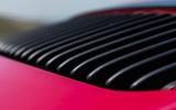 Porsche 911 GTS engine vents