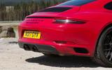 Porsche 911 GTS rear end