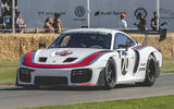 Porsche 935 racer at Goodwood 2019 - front