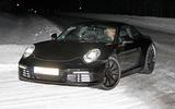 2019 Porsche 911 testing in the snow