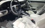 Porsche 911 992 at the LA motor show - interior