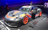 Porsche 911 GT2 RS Clubsport at LA motor show - front