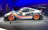 Porsche 911 GT2 RS Clubsport at LA motor show - side