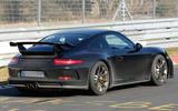 Porsche 911 GT3 facelift spy shots