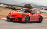 Porsche 911 GT3 on track - front