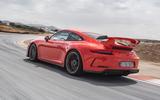 Porsche 911 GT3 on track - rear