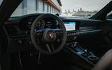 Porsche 911 GTS dash