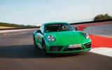 Porsche 911 GTS frontrack