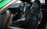 Porsche 911 GTS seat