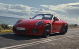 Porsche 911 Speedster 2019 reveal - front