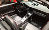 Porsche 911 Speedster 2019 - New York motor show - interior