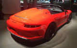 Porsche 911 Speedster 2019 - New York motor show - rear