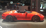 Porsche 911 Speedster 2019 - New York motor show - side