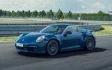 Porsche 911 Turbo 2020 official images - front