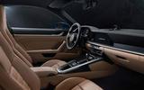 Porsche 911 Turbo 2020 official images - interior