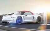 Porsche Boxster EV concept