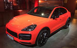 Porsche Cayenne Coupe 2019 reveal event - front
