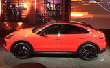 Porsche Cayenne Coupe 2019 reveal event - side