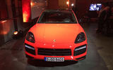 Porsche Cayenne Coupe 2019 reveal event - nose