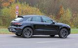 Porsche Macan facelift side
