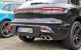 Porsche Macan facelift rear close
