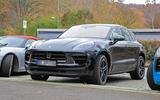 Porsche Macan facelift front
