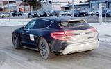 Porsche Taycan Cross Turismo side rear
