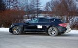 Porsche Taycan Cross Turismo side 3/4