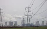 National grid power lines