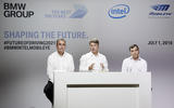 BMW Intel Mobileye press conference