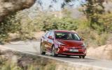 Toyota Prius on road