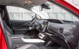 Toyota Prius Excel interior
