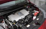 1.8-litre Toyota Prius hybrid engine
