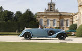 Perfect setting for this classic Rolls-Royce