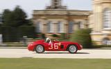 Classic Ferrari stretches its legs