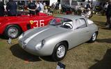 Ultra-rare Abarth bathes beside a classic Ferrari
