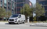 production version of new transit custom plug in hybrid