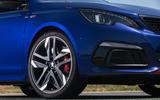 Peugeot 308 GTi alloy wheels